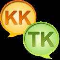 Kazakh Turkmen Dictionary + icon