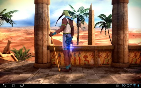 Egypt 3D Pro live wallpaper Screenshot