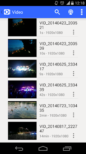 MKV Amp Player (MP4, DVD) Amp Player screenshots 1