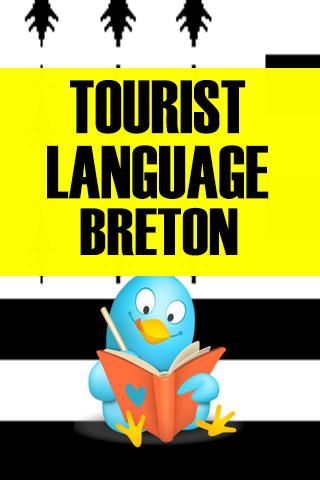 Tourist language Breton
