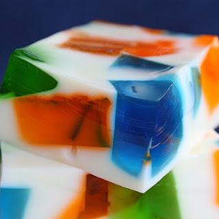 Sea Glass Jello.