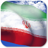3D Iran Flag Live Wallpaper +