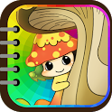 Kids Coloring (Vegetable elf) icon