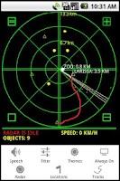 Screenshot of Hansel's Personal Radar