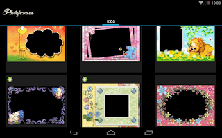 Screenshot of Kids PhotoFrames