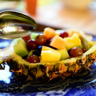 Pineapple Fruit Bowl
