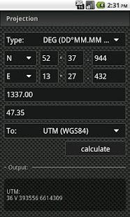 GCC - GeoCache Calculator Screenshot
