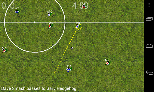 Soccer for Android  screenshots 3