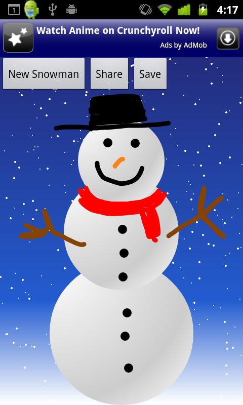 Make a Snowman- screenshot