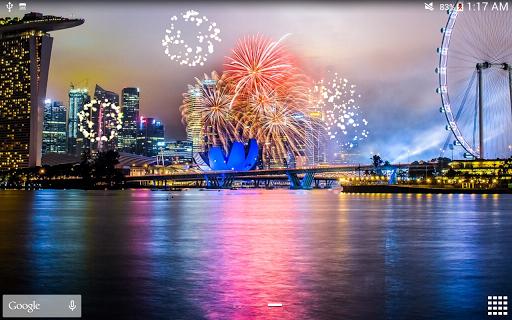 Fireworks Live Wallpaper 2018 1.2.1 screenshots 17
