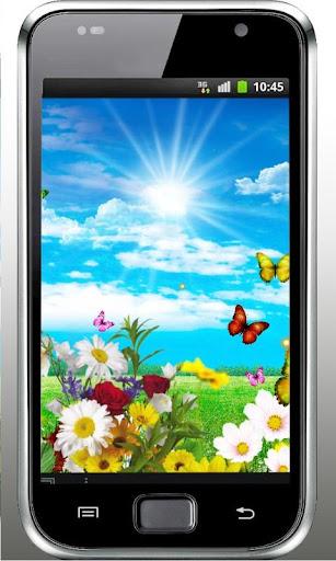 Butterfly Summer Field LWP