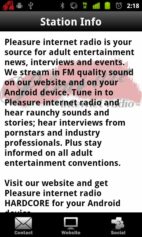 Pleasure Internet Radio (Free) - screenshot