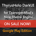 DarkUI Thyrusholo Theme CM11 APK Cracked Download