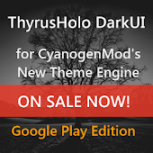 DarkUI Thyrusholo Theme CM11