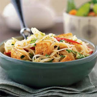 Curried Noodles with Tofu.