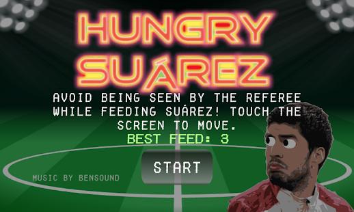 Hungry Suarez