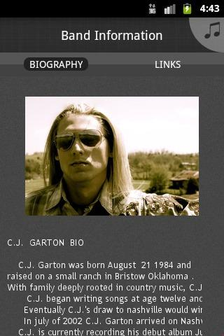 CJ GARTON - screenshot