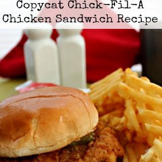 Copycat Chick Fil A Chicken Sandwich