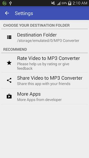 Video to MP3 Converter - MP3 Tagger 1.6.0 screenshots 8