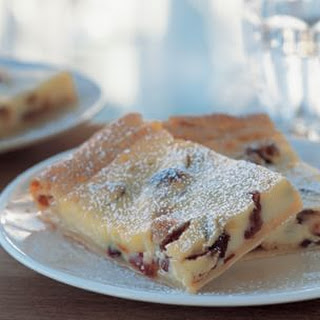 Ricotta Tart with Cranberries.