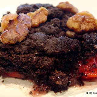 Chocolate Cherry Pineapple Dump Cake