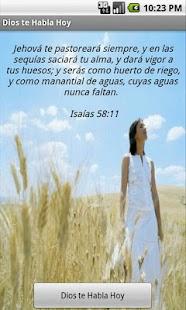 Dios Te Habla Hoy- screenshot thumbnail
