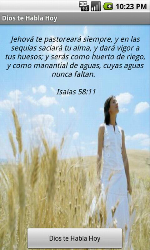 Dios Te Habla Hoy- screenshot