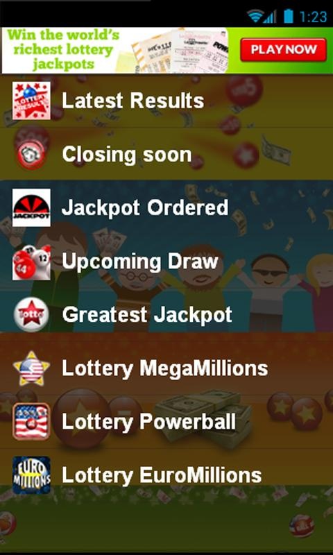 WinTrillions Lottery Results+ - screenshot
