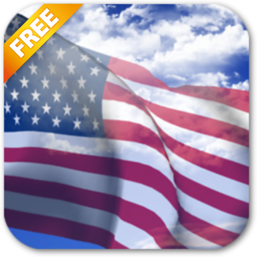 3D US Flag .. file APK for Gaming PC/PS3/PS4 Smart TV