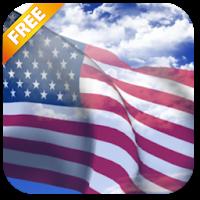 3D US Flag Live Wallpaper 3.1.1