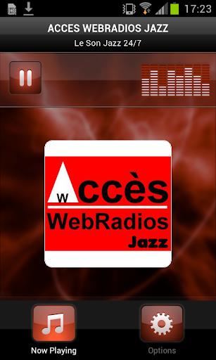 ACCES WEBRADIOS JAZZ