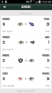 Official Green Bay Packers- screenshot thumbnail