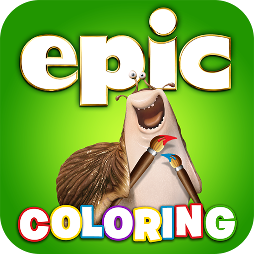 Epic Coloring and Storybook