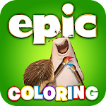 Epic Coloring and Storybook 1.12 Apk