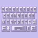 Purple Pearl Keyboard Skin