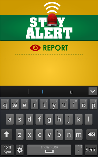 Stay Alert- screenshot