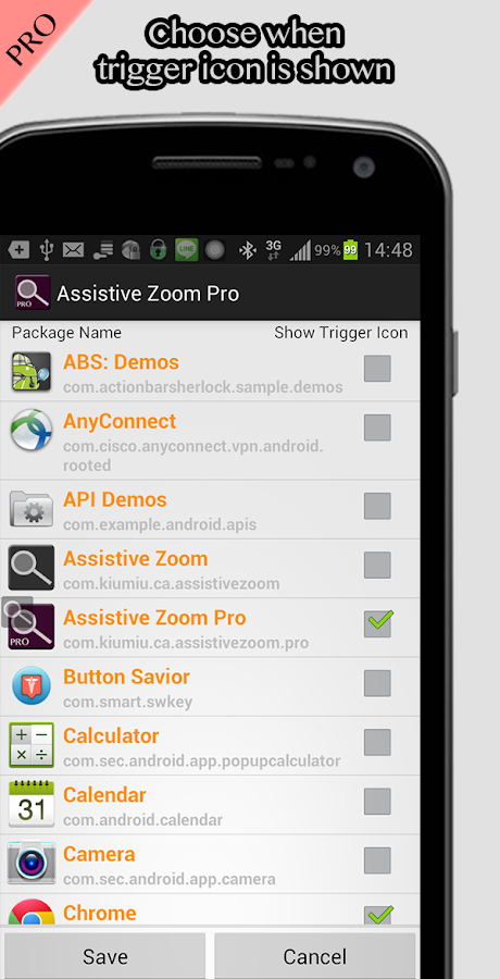 Assistive Zoom (root)- screenshot