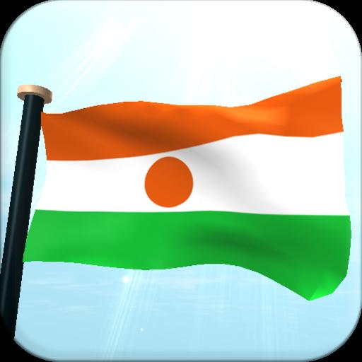 Niger Flag 3D Free Wallpaper