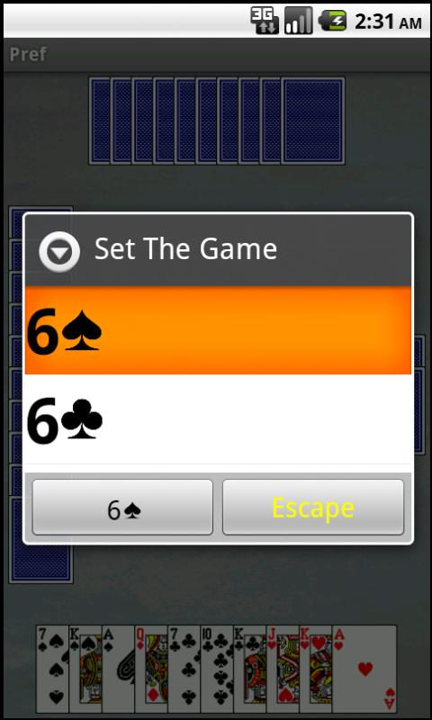 Преферанс– скриншот