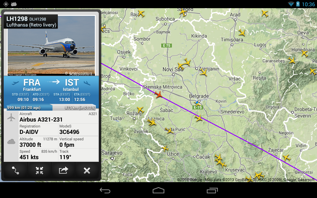 FR24 Premium - screenshot