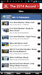 Philadelphia Weather - screenshot thumbnail