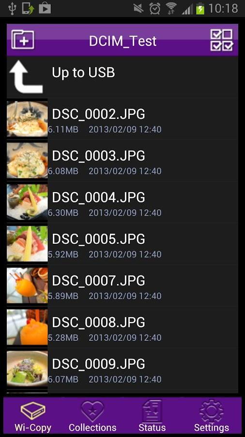 Wi-Copy - screenshot