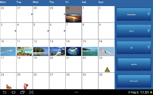 ClickCal Calendar - screenshot thumbnail