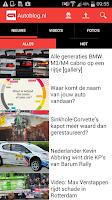 Screenshot of Autoblog.nl