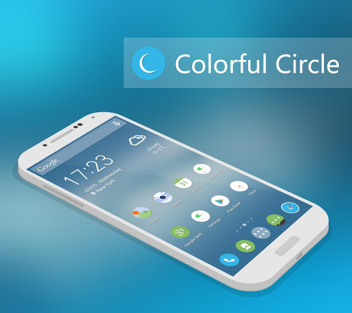Circle Solo Launcher Theme