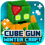 Cube Gun 3D : Winter Craft 1.0 Apk