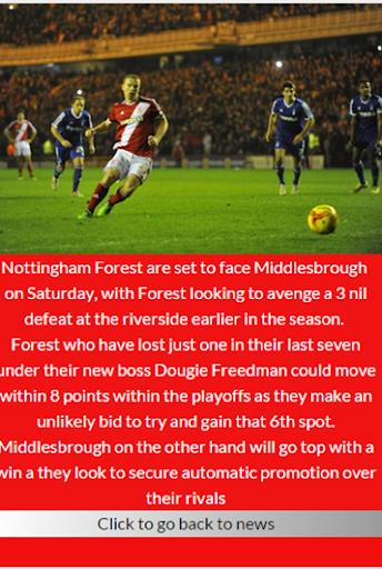 Nottingham Forest FC News