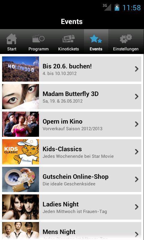 Star Movie- screenshot