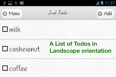 Just Todo- screenshot thumbnail