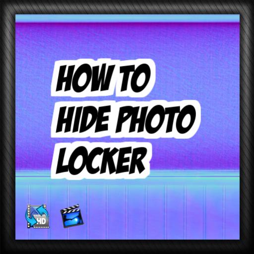 How to hide photo locker